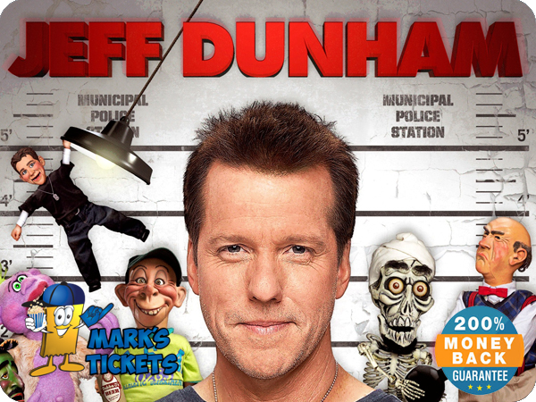 Cheap Jeff Dunham Tickets | Mark's Tickets