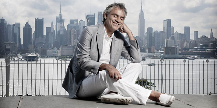 Cheap Andrea Bocelli Tickets | Mark's Tickets