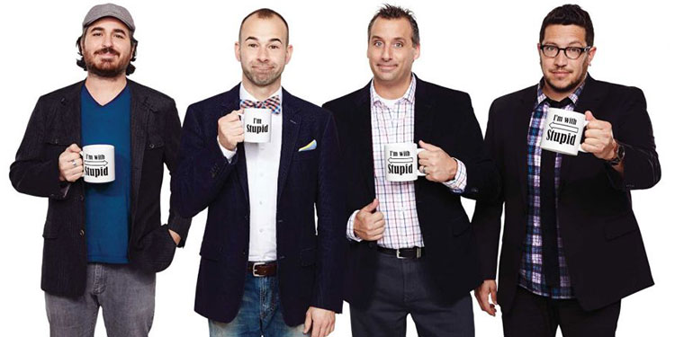 Cheap Cast Of Impractical Jokers Tickets | Mark's Tickets