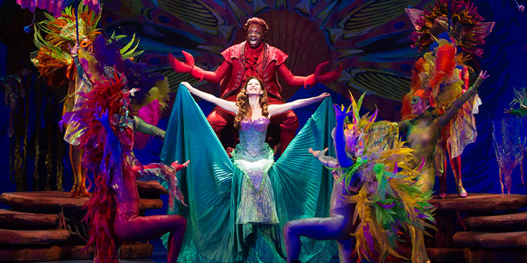 Cheap The Little Mermaid Theatrical Production Tickets