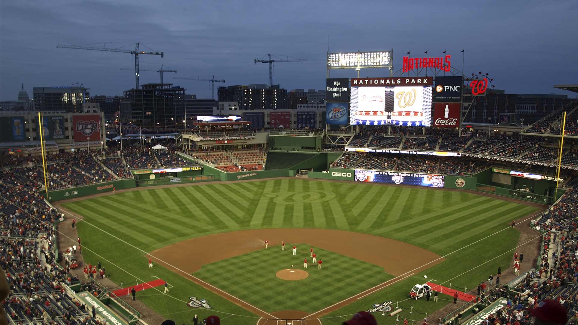 Cheap Washington Nationals Tickets | Mark's Tickets